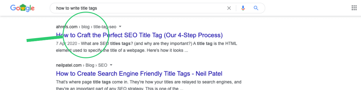 increase website traffic with title tags