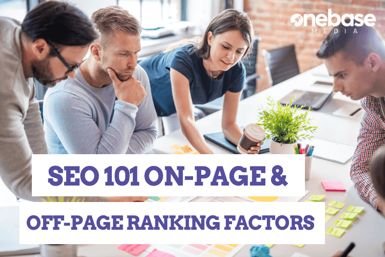 seo 101 on page and off-page SEO