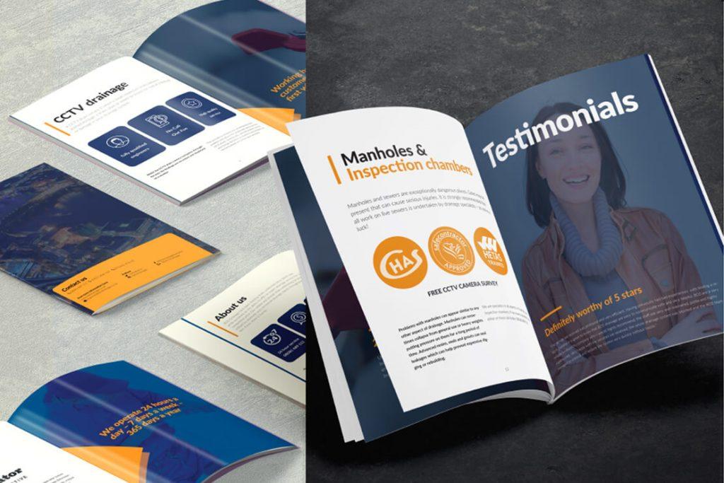 brochure design essex
