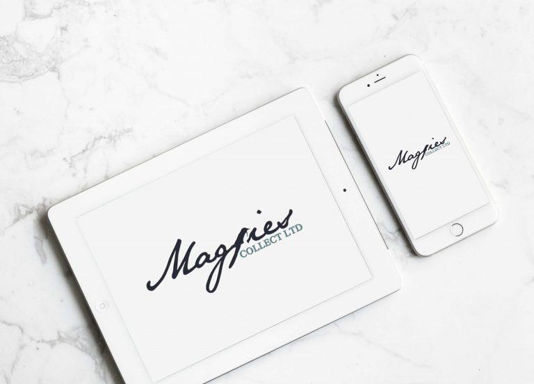magpies collect ltd logo design