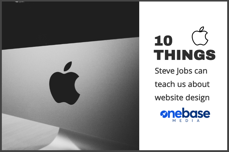 10 things steve jobs can teach us about website design