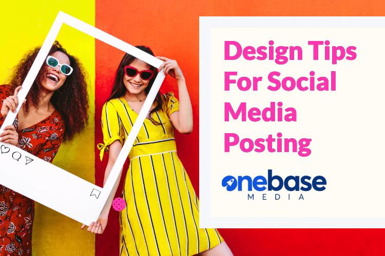 14 design tips for social media posting