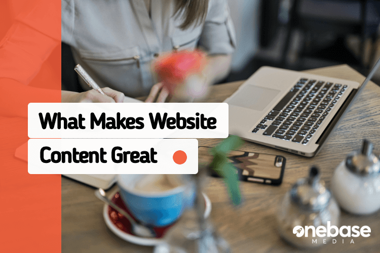 what makes website content great